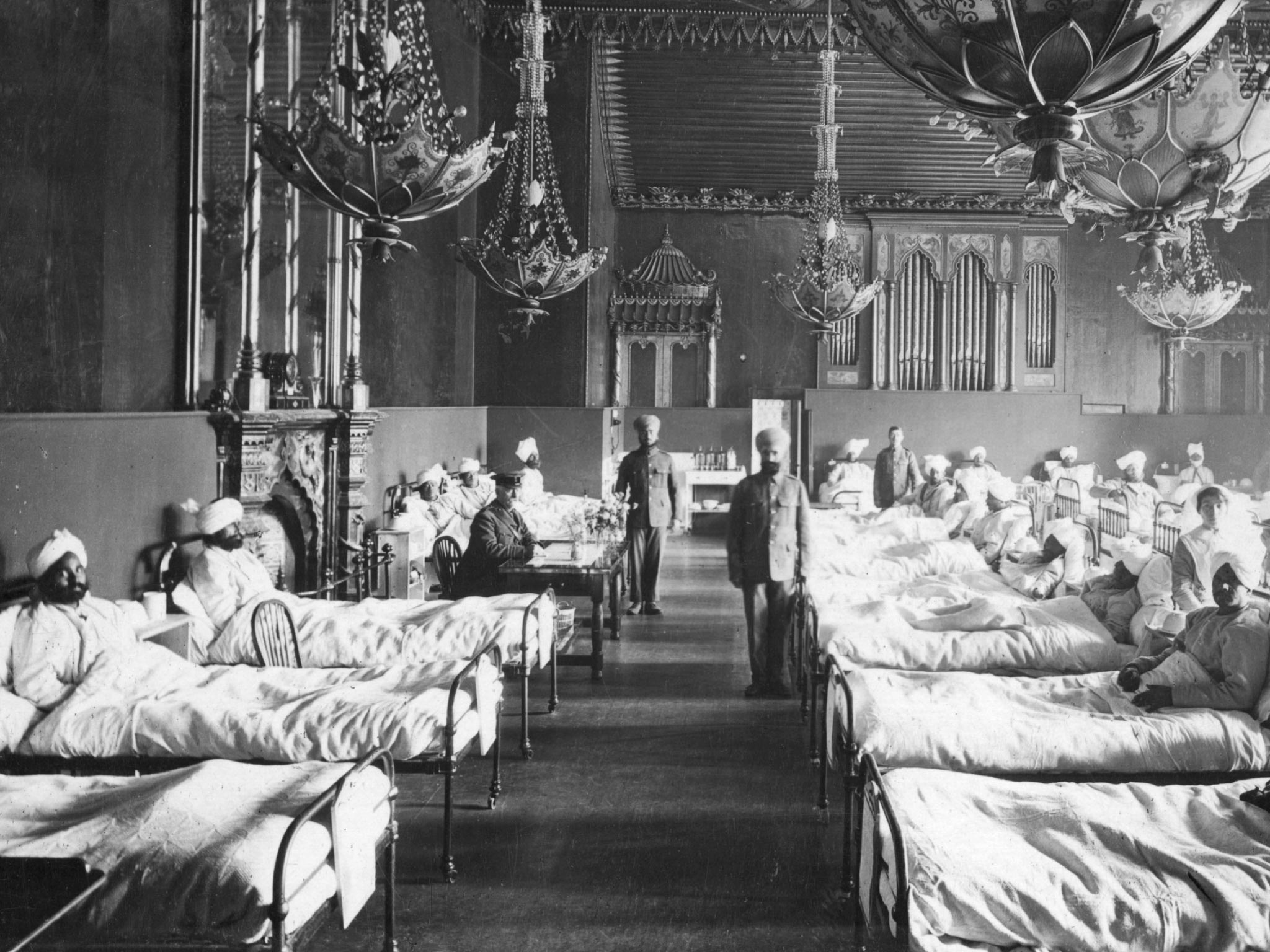 world war 1 hospital
