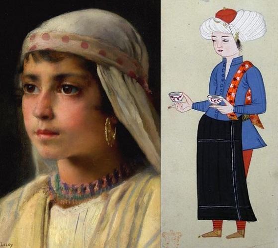 أزياء الأطفال في العصر المملوكي