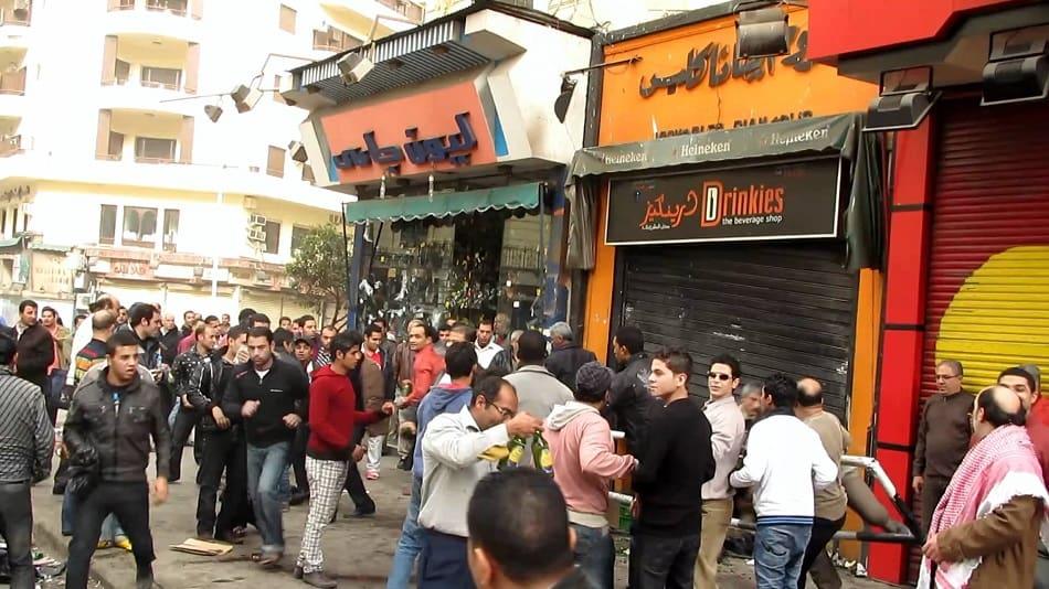 محلات الخمور المصرية