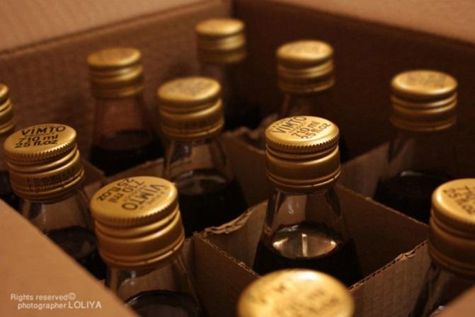 زجاجات مشروب فيمتو في الخليج