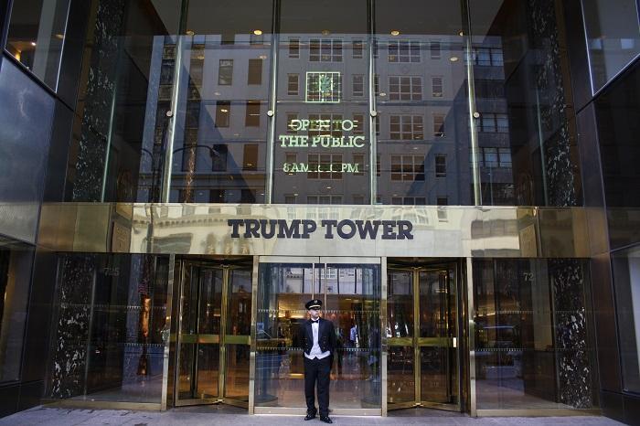 صورة لبرج ترامب