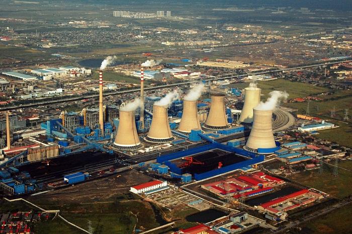مصنع لإنتاج الطاقة في الصين