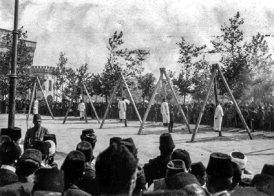 إعدام الأرمن في تركيا