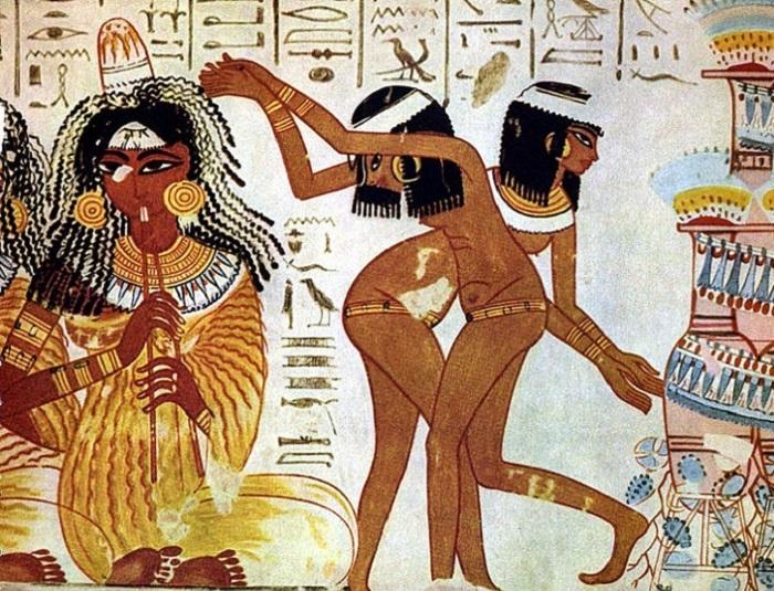 الرقص عند قدماء المصريين