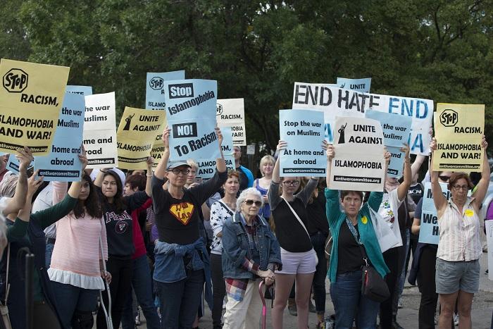 مظاهرات ضد الكراهية والإسلاموفوبيا