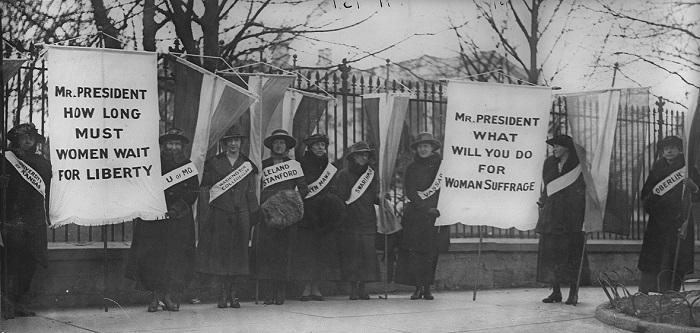 مظاهرة من أجل حقوق المرأة