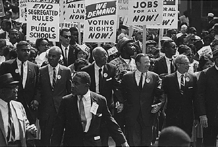 مسيرة للمساواة بين الأعراق