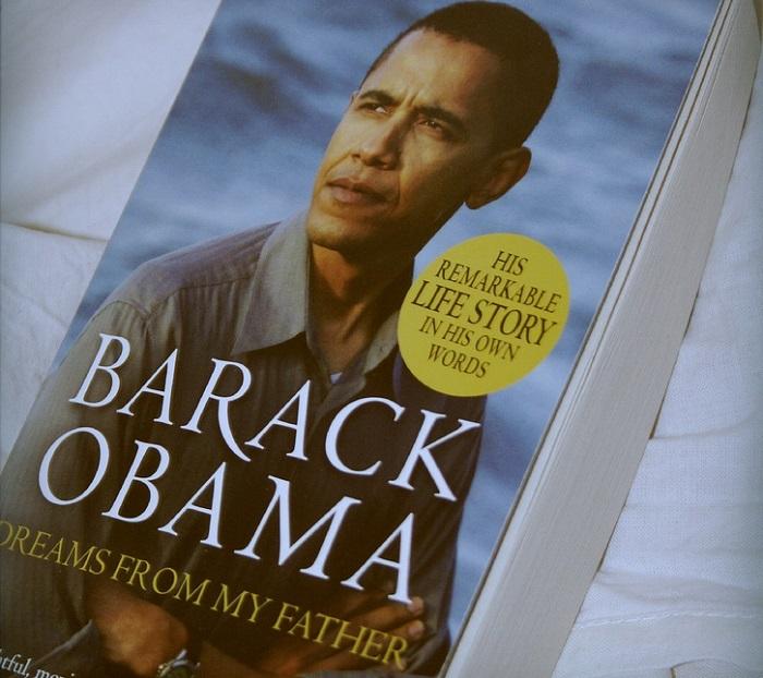 كتاب أوباما أحلام من أبي
