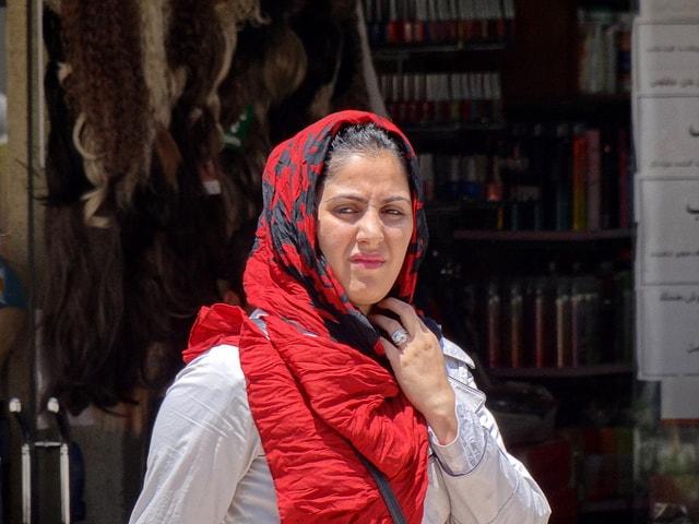 سيدة إيرانية