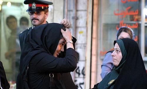 شرطة الأخلاق إيران