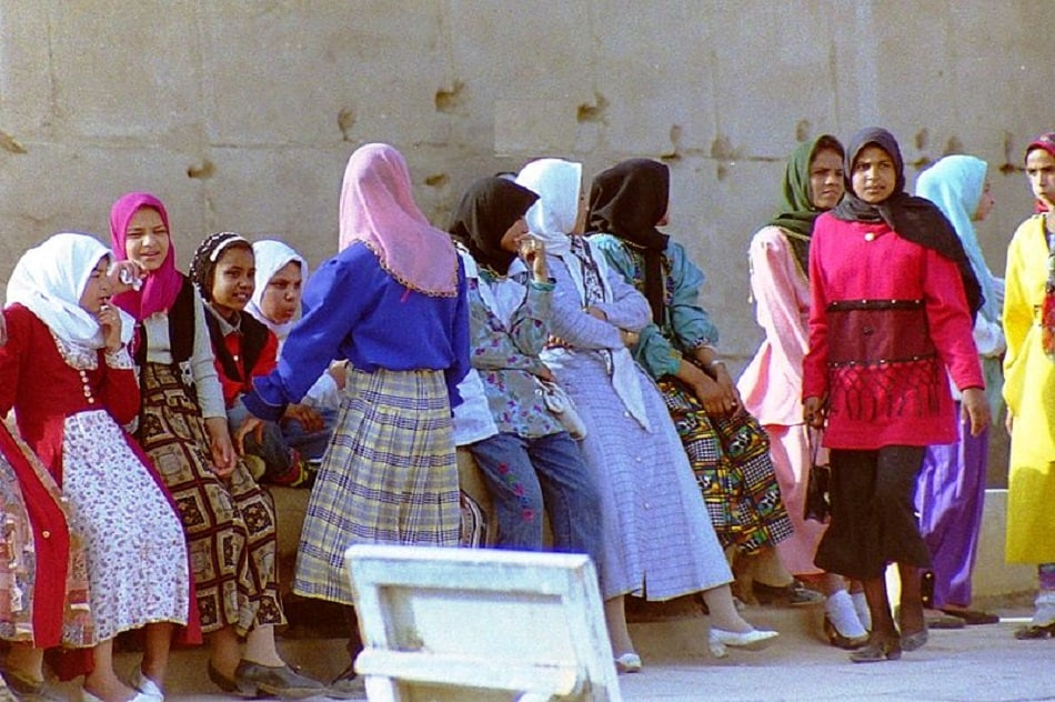 طفلات مصريات