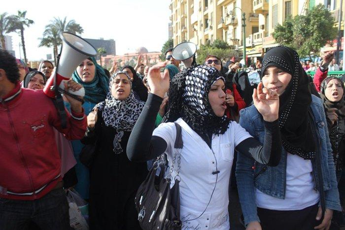 النساء في ميدان التحرير