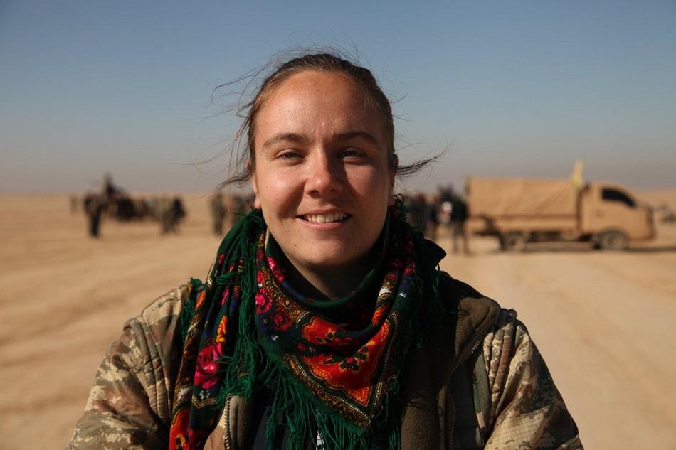 كيمبرلي تايلور أول متطوعة إنجليزية للحرب ضد داعش