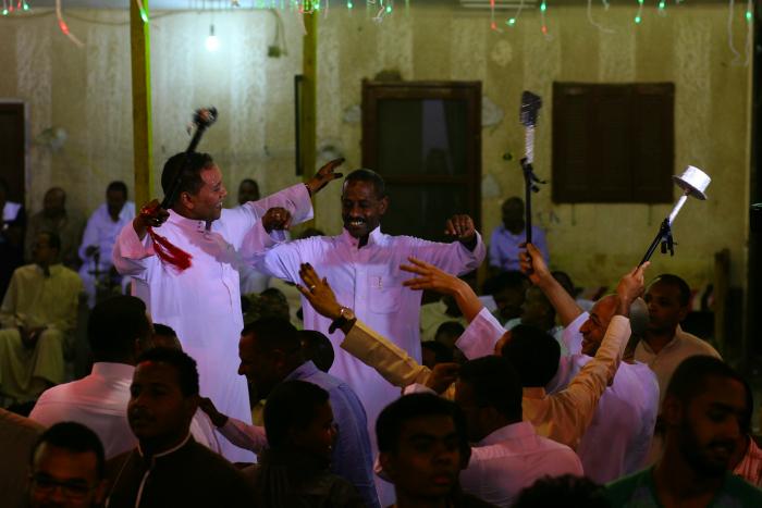 رقص في العرس النوبي