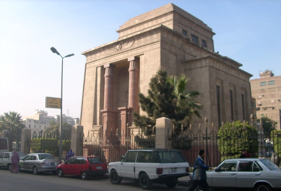 ضريح سعد زغلول في منطقة المنيرة بالقاهرة