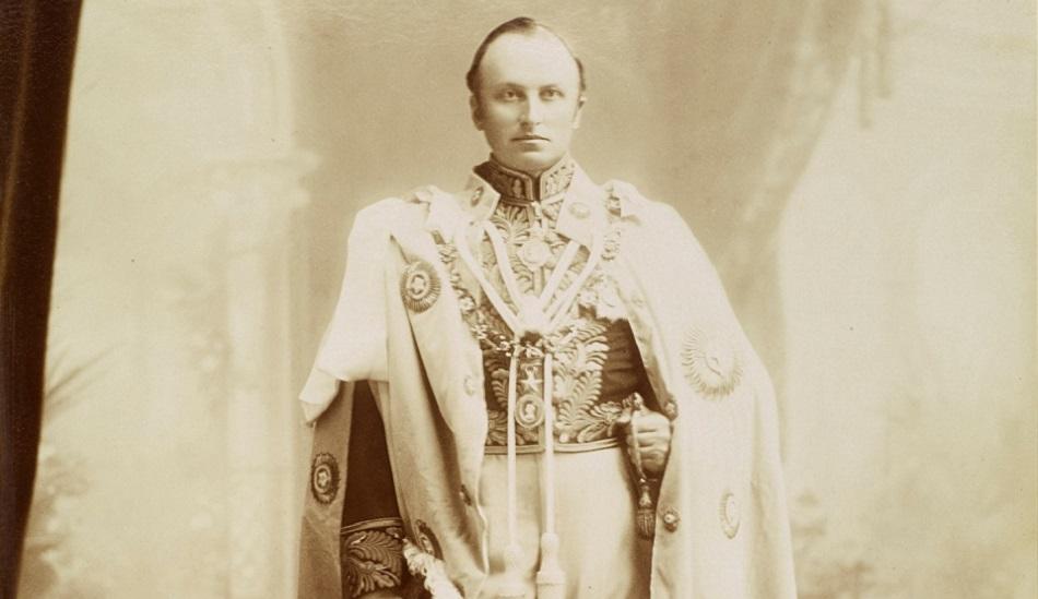 سعادة جورج كيرزون الوالي والحاكم العام البريطاني للهند