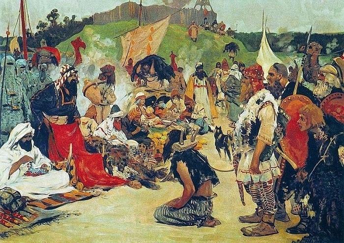 تجارة العبيد في الفولجا