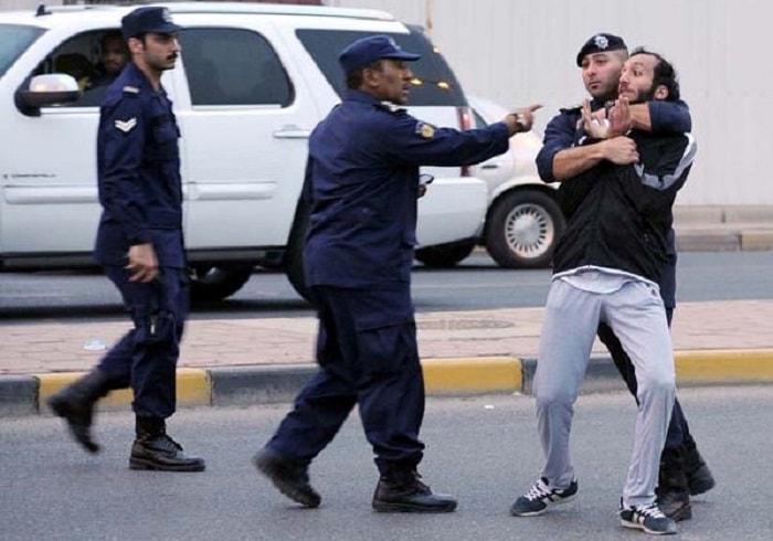 مظاهرة البدون في الكويت
