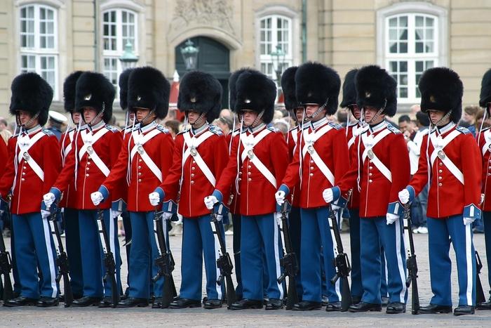 الحرس الملكي في الدنمارك