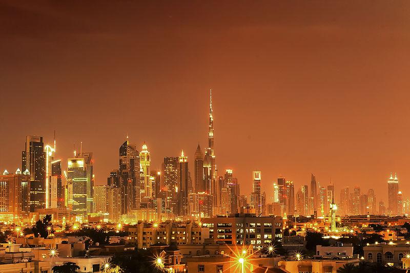 وسط البلد بمدينة دبي
