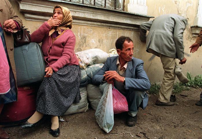 لاجئين من البوسنة