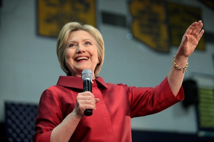 هيلاري كلينتون مرشحة الانتخابات الأمريكية
