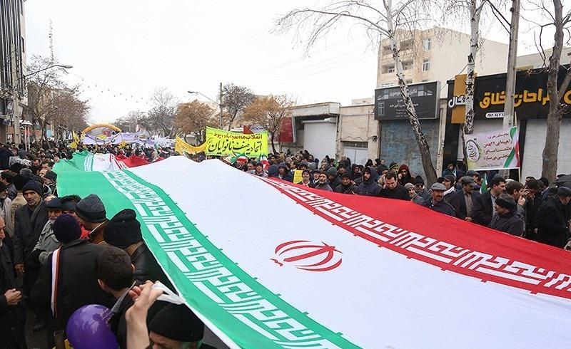 التظاهرات في إيران