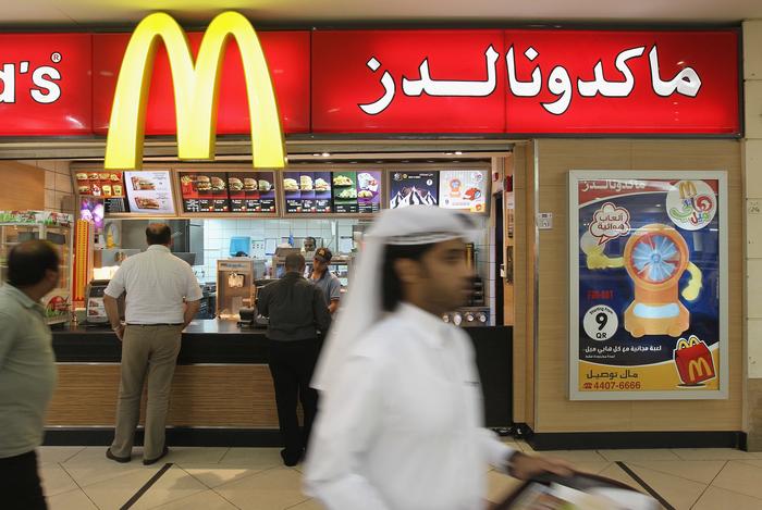 ماكدونالدز في قطر