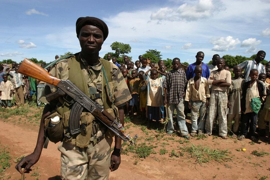 مقاتلون من جنوب السودان