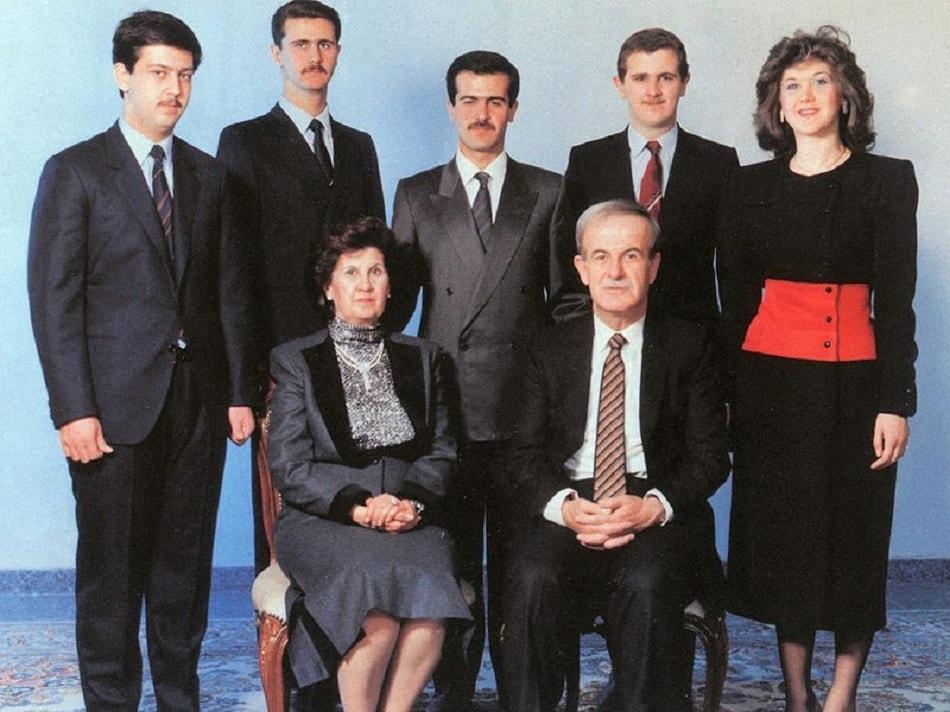 عائلة الأسد