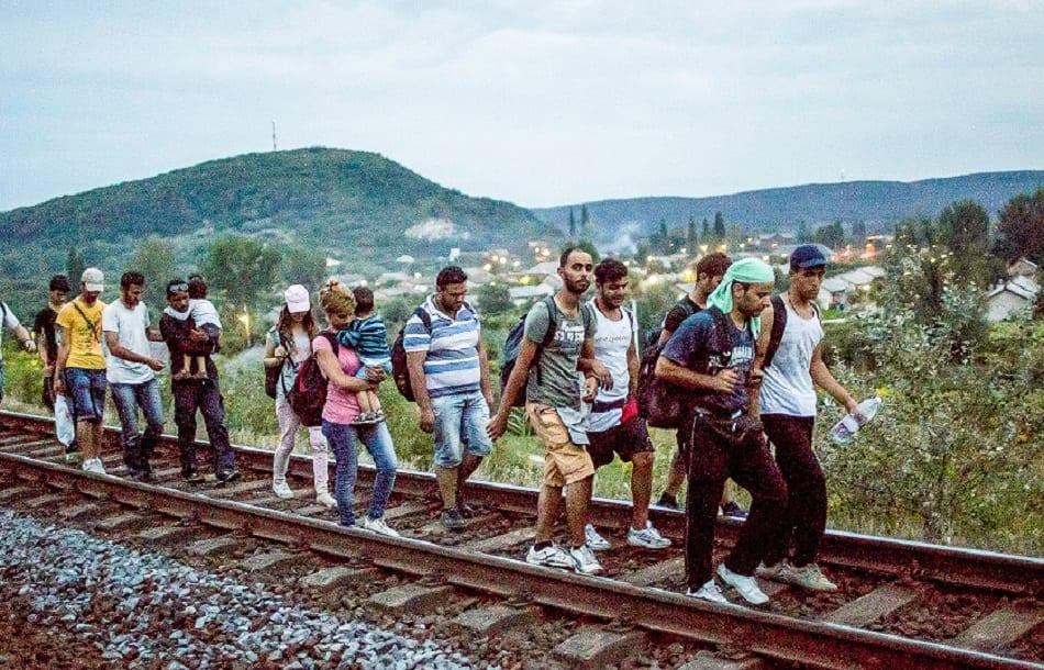 لاجئون من سوريا