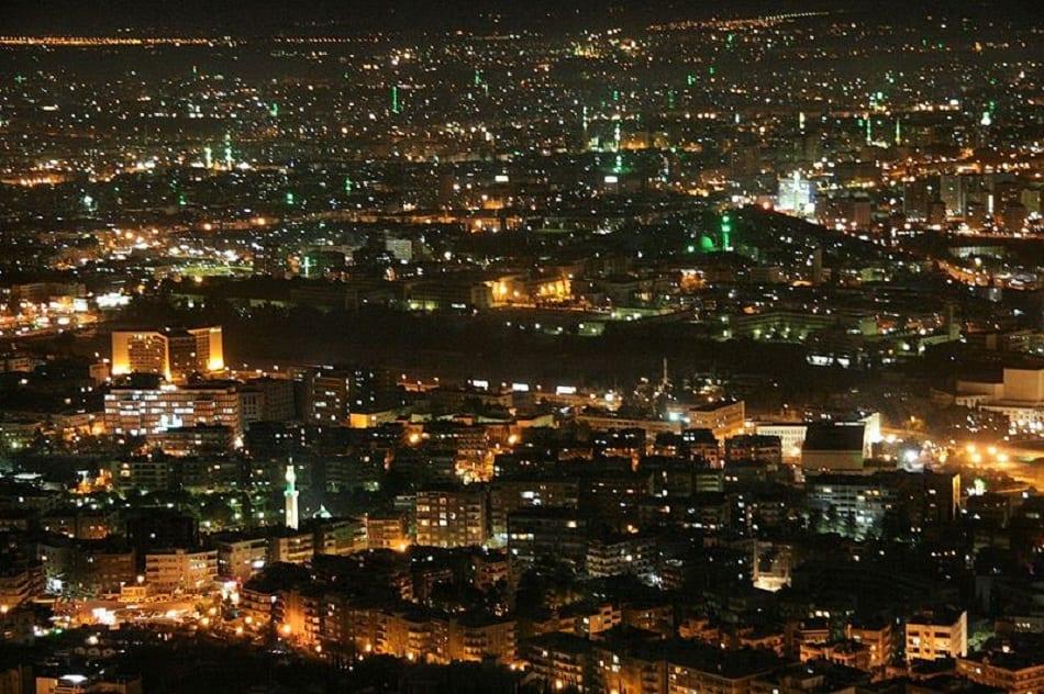 ليل دمشق