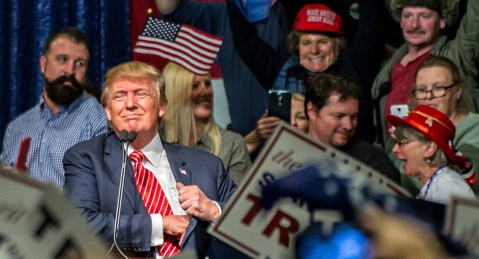 دونالد ترامب في نيفادا