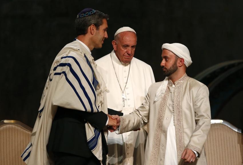 ممثلون عن الأديان الإبراهيمية الثلاثة