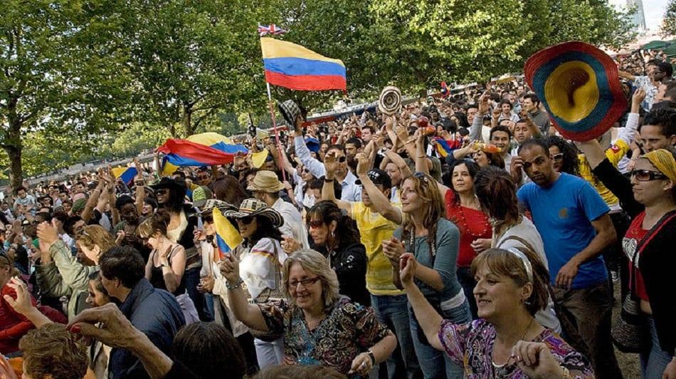 مهرجان كولومبي في بريطانيا