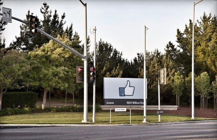 مقر شركة فيسبوك في كاليفورنيا