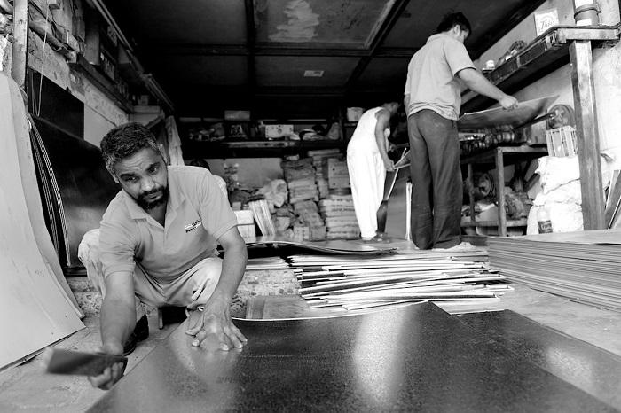 عمال آسيويون في الكويت