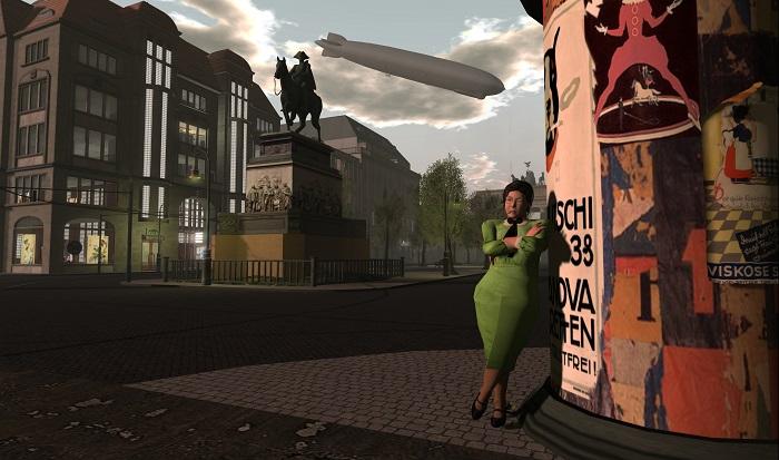 لقطة من لعبة واقع افتراضي