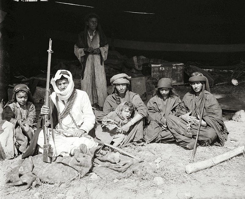 عائلة بدو فلسطينية