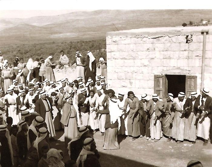 حفل زواج عربي قديم