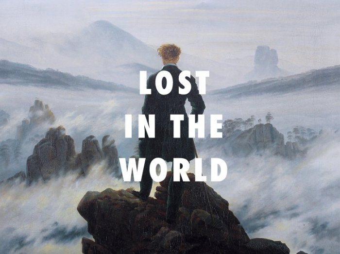 ميم Lost in the world