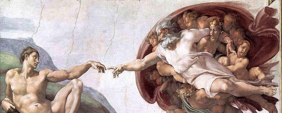 لوحة مايكل انجلو