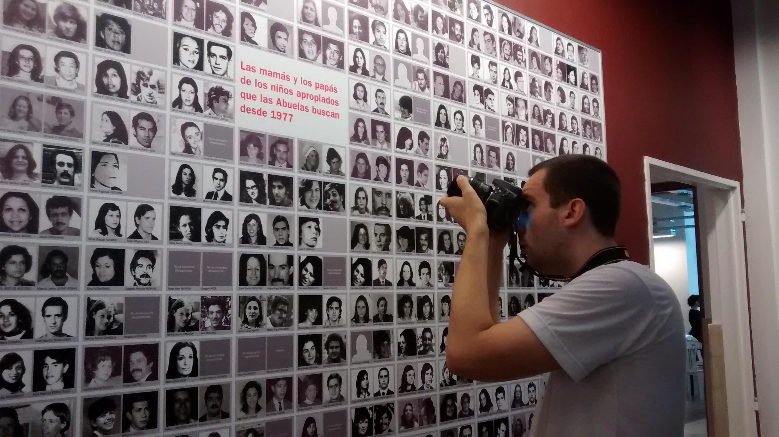 معرض صور للمختفين قسرًا في الأرجنتين
