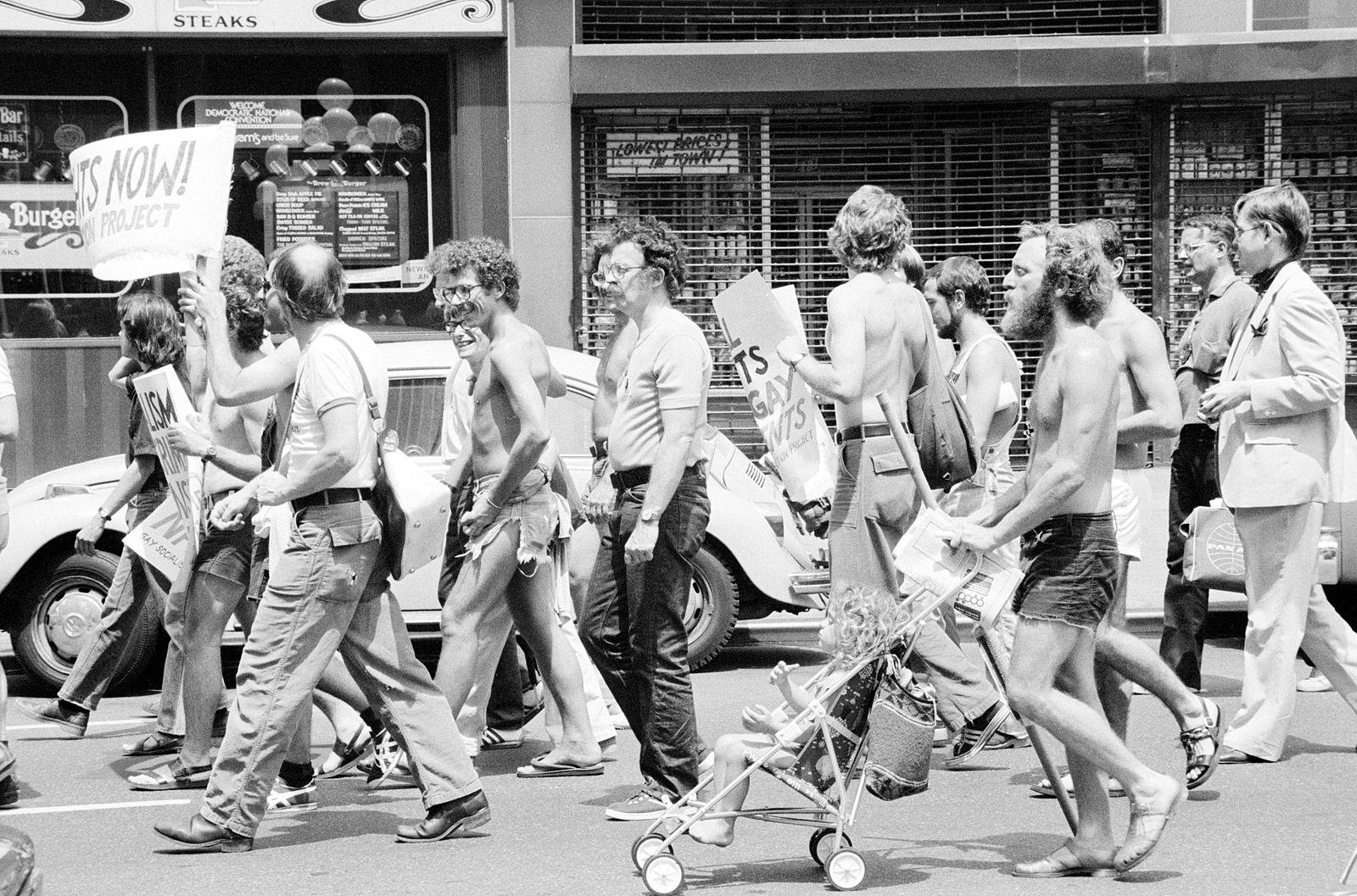 مظاهرة للمثليين في أمريكا